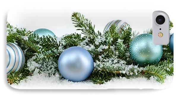 Christmas Ornaments IPhone Case by Elena Elisseeva