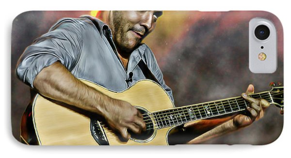 Dave Matthews Band IPhone Case by Don Olea