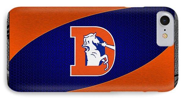 Denver Broncos Phone Case by Joe Hamilton