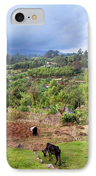 Dorze In The Guge Mountains, Ethiopia IPhone Case