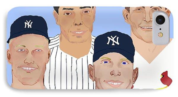 9-inning Legends Phone Case by Pharris Art