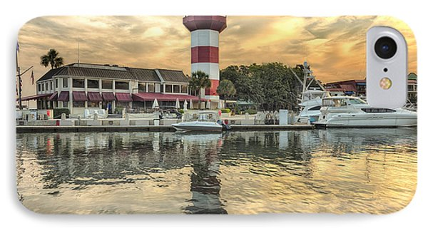 Lighthouse On Hilton Head Island IPhone Case