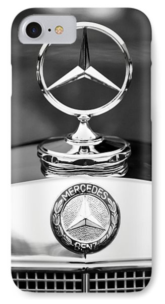 Mercedes-benz Hood Ornament IPhone Case by Jill Reger