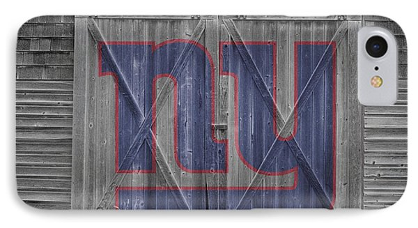 New York Giants IPhone Case by Joe Hamilton
