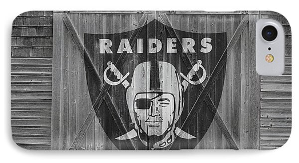 Oakland Raiders IPhone Case by Joe Hamilton
