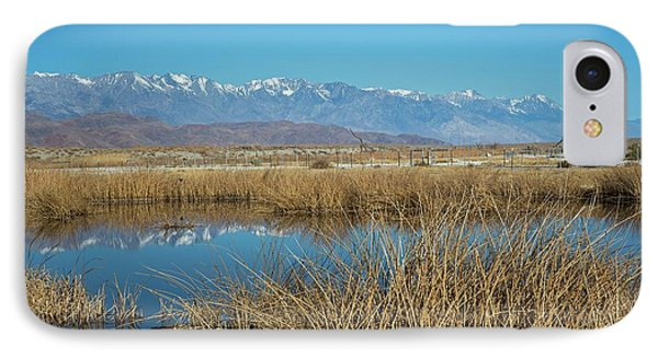 Owens Lake IPhone Case by Jim West