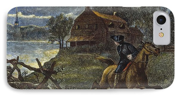Paul Reveres Ride IPhone Case