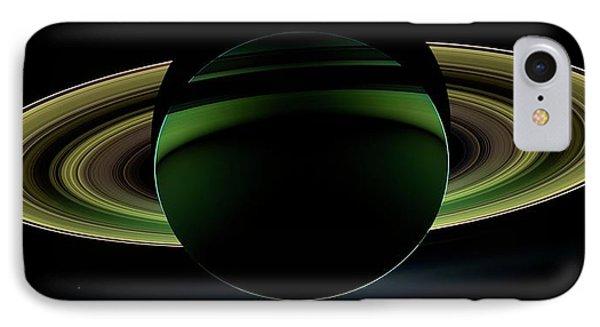 Saturn IPhone Case by Nasa