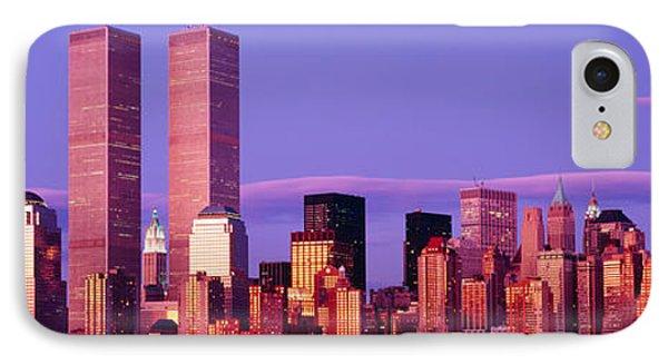 Skyscrapers In A City, Manhattan, New IPhone Case