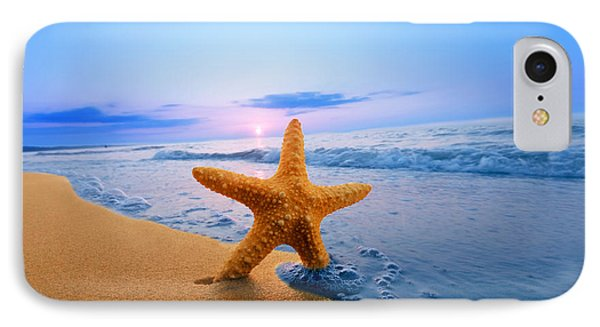 Starfish Phone Case by Michal Bednarek