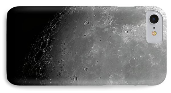 Surface Of The Moon IPhone Case by Detlev Van Ravenswaay