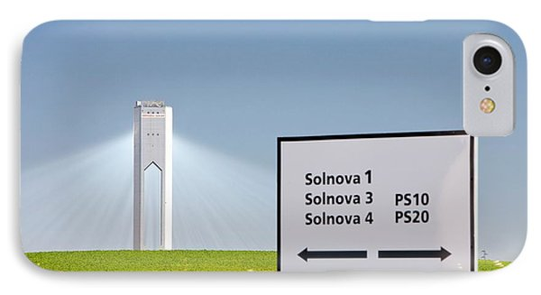 The Ps20 Solar Thermal Tower IPhone Case by Ashley Cooper