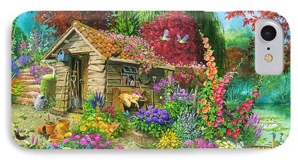 The Garden Shet IPhone Case by John Francis