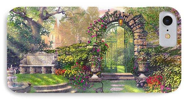 The Garden Gates IPhone Case by Dominic Davison
