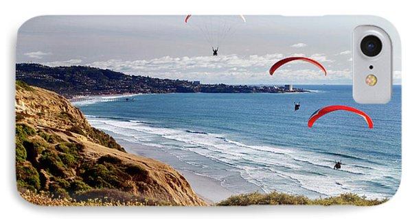Usa, California, La Jolla IPhone Case by Ann Collins