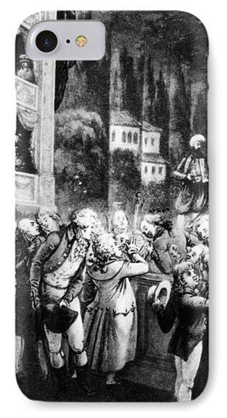 Wolfgang Amadeus Mozart (1756-1791) IPhone Case