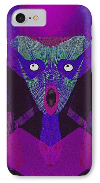 948 - The  Howling  ... IPhone Case by Irmgard Schoendorf Welch