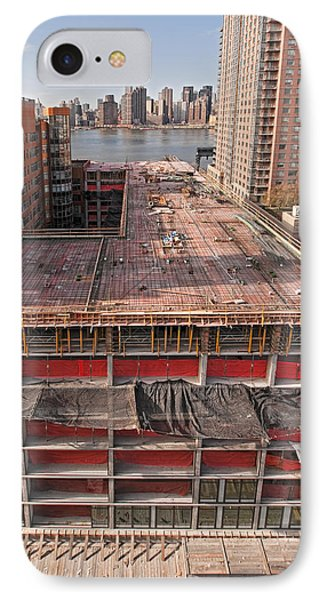 9th Floor Forms IPhone Case by Steve Sahm