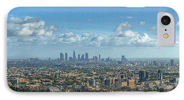 A 10 Day In Los Angeles IPhone Case by David Zanzinger