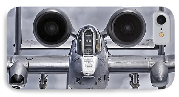 A-10 Thunderbolt II Phone Case by Adam Romanowicz