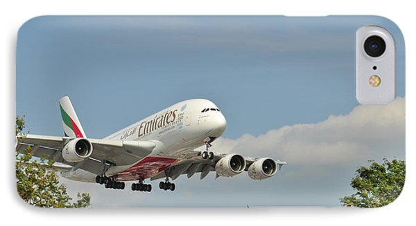 A 3800 Emirates IPhone Case by Puzzles Shum