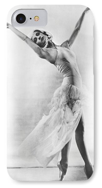 A Ballet Dancer IPhone Case by Underwood Archives
