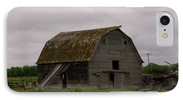 A Barn In Northern Montana Phone Case by Jeff Swan