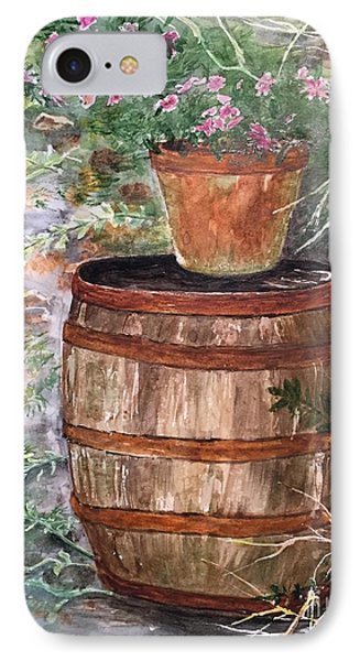 A Barrel Of Flowers IPhone Case