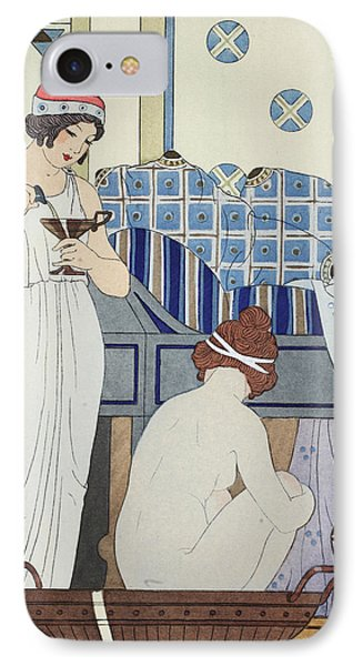 A Bath Seat Phone Case by Joseph Kuhn-Regnier