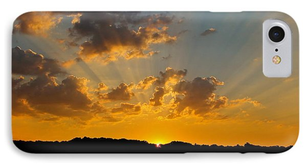 A Bay Sunset Phone Case by Justin Connor