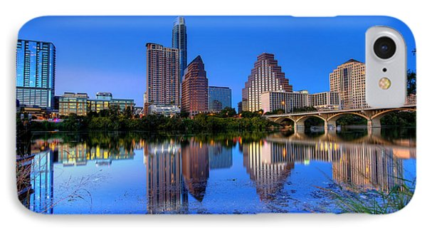 A Beautiful Austin Evening IPhone Case by Dave Files