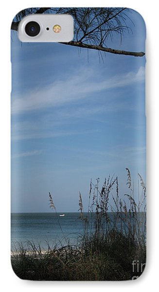 A Beautiful Day At A Florida Beach IPhone Case by Christiane Schulze Art And Photography