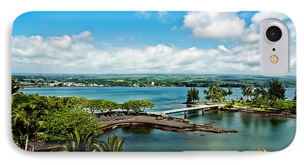A Beautiful Day Over Hilo Bay IPhone Case by Christopher Holmes