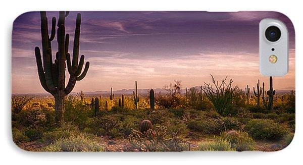 A Beautiful Desert Evening  Phone Case by Saija  Lehtonen