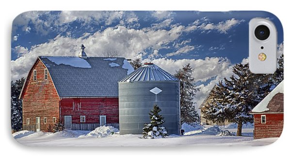 A Beautiful Winter Day IPhone Case by Nikolyn McDonald