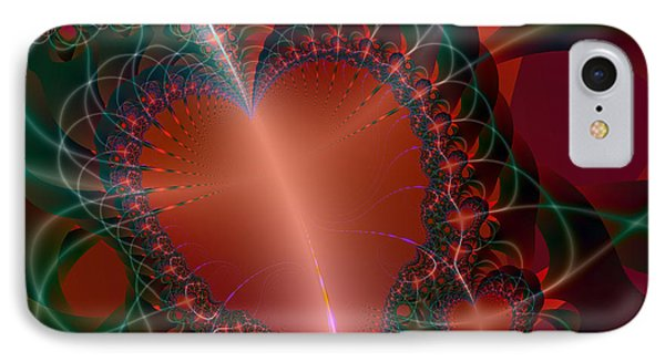 IPhone Case featuring the digital art A Big Heart by Ester  Rogers