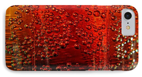 A Bit Of The Bubbly    Pepsi IPhone Case by Debbie Portwood
