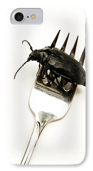 A Bite Of Water Bug Phone Case by Amy Cicconi
