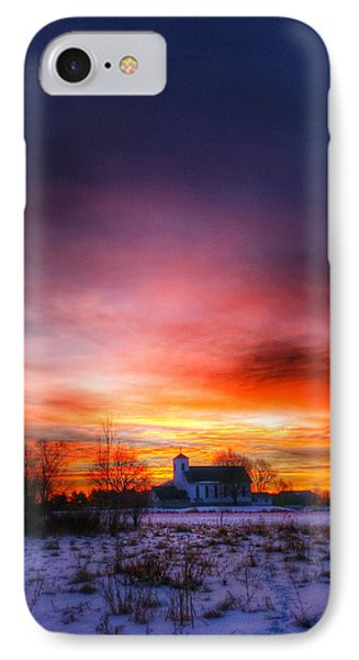 A Blessed Sunrise IPhone Case by Brook Burling