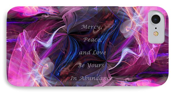 A Blessing IPhone Case by Margie Chapman