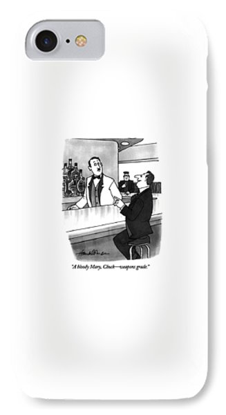 A Bloody Mary IPhone Case by J.B. Handelsman