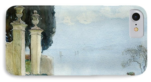 A Blue Day On Como IPhone Case