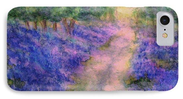 A Bluebell Carpet Phone Case by Hazel Holland