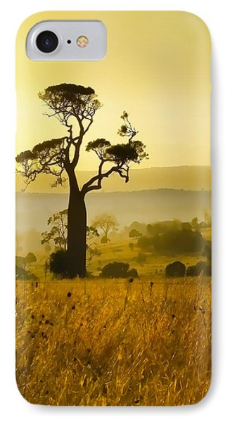 A Boab Sunrise Phone Case by Holly Kempe