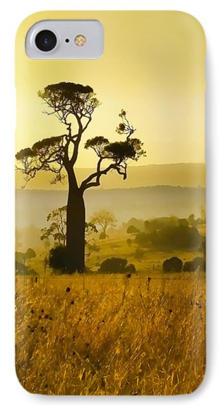 A Boab Sunrise IPhone Case by Holly Kempe