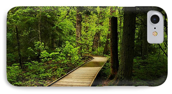 A Boardwalk To Paradise Phone Case by Jeff Swan