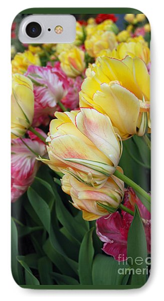 A Bouquet Of Tulips For You Phone Case by Eva Kaufman