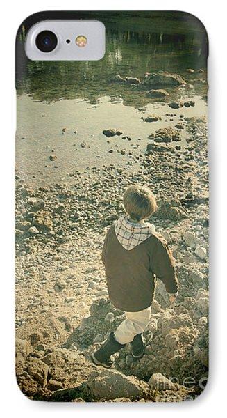 A Boy Phone Case by Jasna Buncic