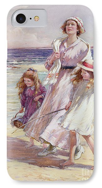 A Breezy Day At The Seaside IPhone Case