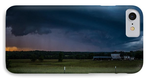 IPhone Case featuring the photograph A Brewing Storm by Julie Clements